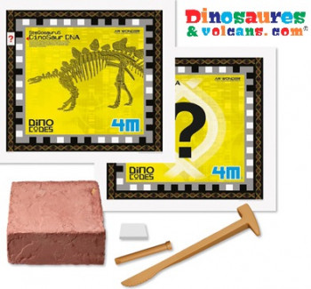 jouet dinosaure excavation Kit ADN dinocode