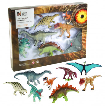 coffret dinosaure natural history