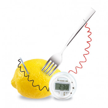 Citron horloge science en cuisine