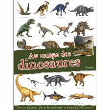 Au temps des dinosaures - Panorama stickers EDITIONS PICCOLIA